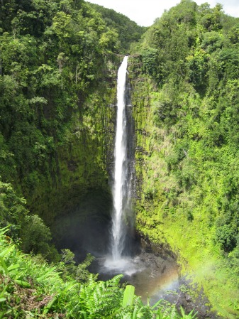 Akaka Falls, Big Island Of Hawaii Backpack