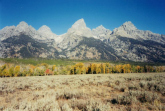 Teton Range, grand teton national park